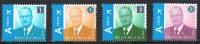 Année 2009 - COB 3867 à 3870** - Roi Albert II Avec Nouveau Système D'affranchissement - Cote 26,90€ - Unused Stamps