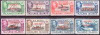 SOUTH ORKNEYS 1944 SG #C1-C8 Compl.set MNH/MLH Dependency Of Falkland Islands - Falkland Islands