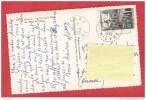 M620 58 DECIZE LA TOUR DE LA PLACE DE L'HOTEL DE VILLE  VOITURE 1958 CACHET POINTILLE BEARD 2 SCANS - Lettres & Documents