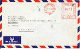 Kuwait air mail cover with Meter cancel sent to England 10-12-1966