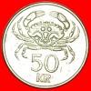 ★CRAB: ICELAND ★ 50 KRONUR 1992! LOW START ★ NO RESERVE! - Iceland