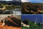 P. CHINA - The Great Wall / Grande Muraille / Gran Muralla - Mutianyu, Badaling, Simatai, Jinshanling - China
