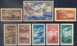 Russia 1949, Michel Nr 1401-08, MH OG - 1923-1991 USSR