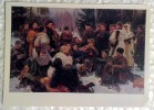 Vintage Russian Postcard 1975  Soldiers Of Red Army.Second World War. Rest After Battle. Socialist Realism - War 1939-45