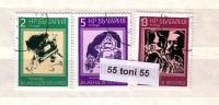 Bulgaria / Bulgarie 1976 Alex Jendov – Caricaturist 3v.- Used/oblit.(O) - Gebraucht