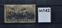 100 Jahre Eisenbahn In Indien, Lokomotive, Indien 1953 (in0142) - Non Classés
