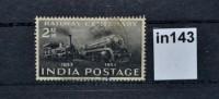100 Jahre Eisenbahn In Indien, Lokomotive, Indien 1953 (in0143) - Non Classés