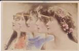 C P A---PROFILS DE FEMMES----art Nouveau ----voir 2 Scans - Femmes