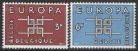 BELGIEN MI-NR. 1320/21 ** MNH - CEPT 1963 (23) - Europa-CEPT