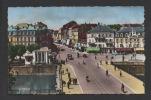 DF / 90 TERRITOIRE DE BELFORT / BELFORT / PONT SUR LA SAVOURAUSE, PLACE CORBIS ET FAUBOURG DE FRANCE / CIRCULÉE EN 1957 - Belfort - City