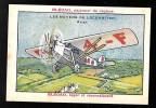 """Pub Blécao , Verrulyse , Les Moyens De Locomotion """" Avion - Chrop01 - Confectionery & Biscuits"""