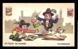 """Pub Blécao , Bledine  , Le Tour Du Monde """" Florence """"- Chrop04 - Confectionery & Biscuits"""