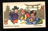 """Pub Bledine , Blecao - Le Tour Du Monde """" Yokohama """" - Chrop14 - Confectionery & Biscuits"""