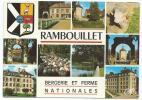 CP RAMBOUILLET, BERGERIE ET FERME NATIONALES, YVELINES 78 - Rambouillet