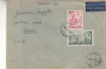 Pologne - Lettre Recommandée De 1935 - Oblitération Jarostaw - Expédié Vers La Grande Bretagne - Cheshire - Covers & Documents