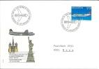 Lettre Suisse * 25 Ans Au Dessus De L´Atlantique Nord * Oblitéré Le 02.05.1972 - Poststempel