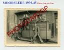 MOORSLEDE-Voiture Commerciale-TABAC-Reclame-Petite Photo Allemande-Guerre-39-45-II WK-BELGIEN-FLANDERN- - Moorslede