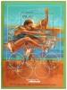 Bloc Feuillet  Timbre ** Jeux Olympiques JO BARCELONE 1992 PALAU Athlète BOB BEAMON Saut  BARCELONA'92 - Ete 1992: Barcelone