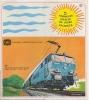 Dépliant Publicité. Train. S.N.C.B. Locomotive. Illustrateur Phil Dambly. Eté 1967. - Dépliants Touristiques