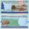 RWANDA       1000 Francs      P-27       1.12.1998         UNC - Rwanda
