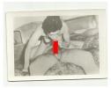 P32- PHOTO  FORMAT 8,5 Cm X  6 Cm  COUPLE  EROTIC SEX FEMME HOMME NUS PHOTOS SEXY PRONOGRAPHIE - Fine Nude Art (1941-1960)