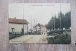 CPA  JONCHERY SUR VESLE PASSAGE A NIVEAU TRAIN GARE - Jonchery-sur-Vesle