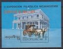 Nicaragua 1984 Philatelic Exhibition / Expofilnic M/s ** Mnh (25506) - Nicaragua