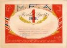 Romania, 1950's, Communist Propaganda Diploma - Sports Merit - RPR - Diplomas Y Calificaciones Escolares
