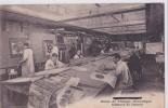 Carte 1914 HALLENCOURT / USINE DE TISSAGE MECANIQUE :atelier De Dessin - France