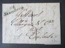 Frankreich 1830 Stemp. 64 Sauveterre Nach Toulouse. 3 Stempel! Sehr Kleiner Ort!Nur Ca. 850 Bewohner!Gemeinde Roquemaure - Marcophilie (Lettres)