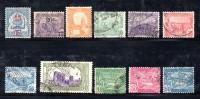 GF1144 - TUNISIA , Dal N. 69 Al N. 78 Usati . - Tunisia (1888-1955)