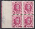 BELGIË - OBP -  1922 - Nr 200 (Blok/Bloc 4) - MNH** - 1922-1927 Houyoux
