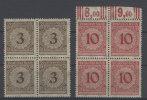 Deutsches Reich Michel No. 338 , 340 ** postfrisch Viererblock