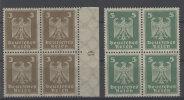Deutsches Reich Michel No. 355 , 356 ** postfrisch Viererblock