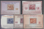 Lot Deutsches Reich Michel Faksimile f�r nichtverausgabte Marken