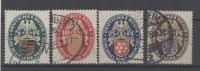 Deutsches Reich Michel No. 398 - 401 gestempelt used