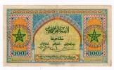 Superbe Billet De 100 Francs  BANQUE D'ETAT DU MAROC Du 1.5.43 - Marokko