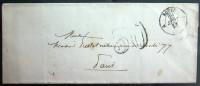 CACHET TYPE 15B  --  ROUEN SAINT SEVER  --  SEINE INF.  --  LSC  --  1855 - 1849-1876: Classic Period