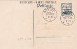 "Entier CP TOGO 5pf OCCUPATION FRANCO-ANGLAISE Obl """" ANECHO - Togo (1914-1960)"