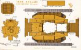 Rare Pas Bob Morane Supplément Marabout Junior N°71 TANK ANGLAIS  CENTURION  TBE - Collezioni