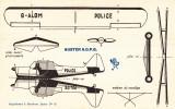 Rare Pas Bob Morane Supplément Marabout Junior N°85  AUSTER A.O.P.G.  TBE Avec Mention Supplément - Collezioni