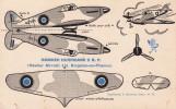 Rare Pas Bob Morane Supplément Marabout Junior N°89 HAWKER HURRICANE II  R.P. TBE - Collezioni
