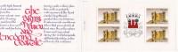 1988 - Caderneta Afinsa Nº 64 - 1850. Castelo De Penedono E Brasão De Viseu. Bloco De 4 Selos Novos Sem Charneira - 1910-... République