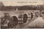 Carte Postale Ancienne De BUFFON- Le Pont Sur L'Armançon - Autres Communes