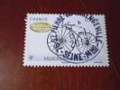 OBLITERATION RONDE  SUR TIMBRE GOMME ORIGINE YVERT N° 4557 - Francia