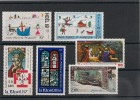 Saint Pierre Et Miquelon Années 1987/95 Noël N° Y/T :   483-496-512-533-623-638** - Collections, Lots & Séries