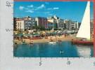 CARTOLINA VG ITALIA - CATTOLICA (RN) - Alberghi Visti Dal Mare - 10 X 15 - ANNULLO 1982 - Rimini