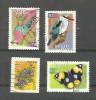 Afrique Du Sud N°1127V, 1127W, 1127AK, 1169 Cote 3.70 Euros - Oblitérés