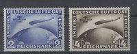 Deutsches Reich Michel No. 438 , 439 ** postfrisch Gummim�ngel