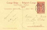 BELGIAN CONGO RUANDA URUNDI GEA PPS  STIBBE 12 VIEW 31 USED